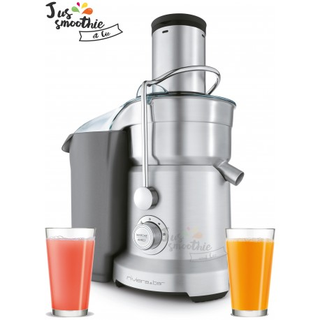 Centrifugeuse professionnelle Riviera et Bar Juice'n Smooth