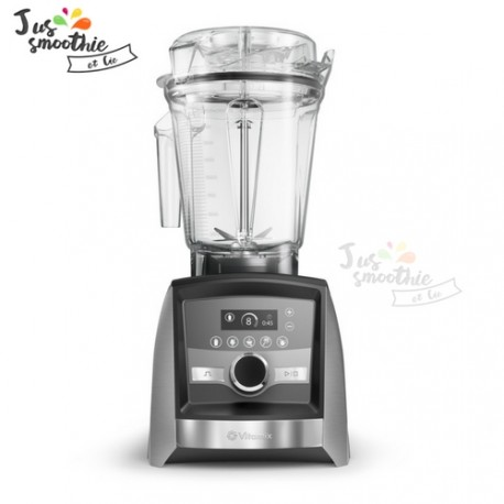 Blender professionnel Vitamix A3500i nickel
