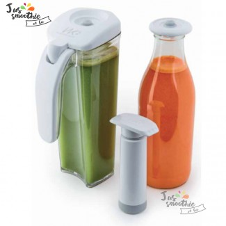 Kit de conservation jus et smoothies